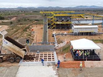 Mineração Vale Verde atinge 1ª meta de 2021 com basculamento de minério