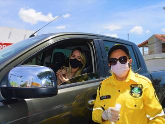 Dia da Mulher: agentes da SMTT homenageiam condutoras