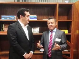 Severino Pessoa recebe vereador por Maceió e garante apoio ao desenvolvimento da capital