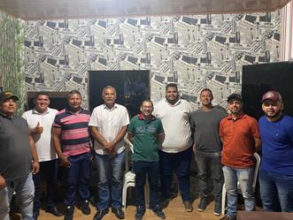 Diretoria do Cruzeiro Arapiraca se reúne com parlamentares arapiraquenses