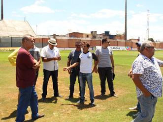 FAF realiza vistoria em estádios da capital e interior; confira a programação