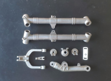 3D metal printing for RC aircraft models