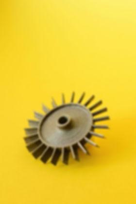 3D напечатанная турдина для ТРД