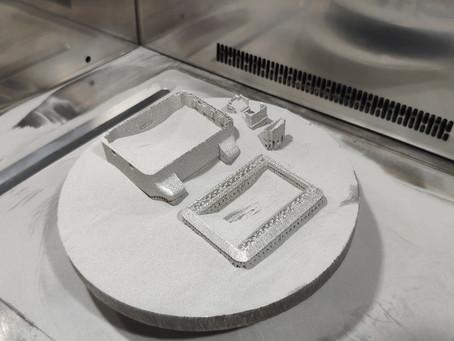 Копия Печать корпуса часов на 3D принтере по металлу