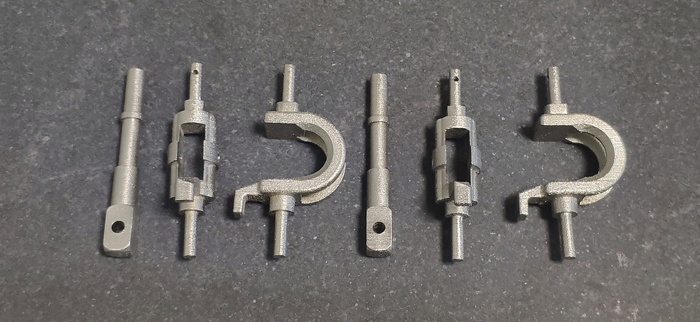 3D prining of spare parts from metal