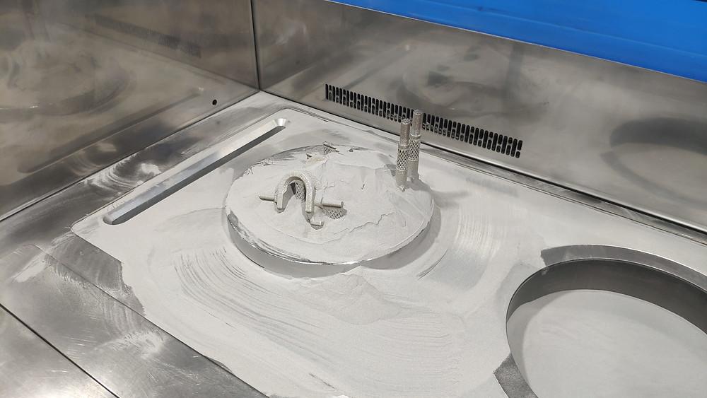 3D печать металлом нержавеющая сталь 316L СПб