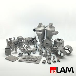 Образцы 3D печати металлом