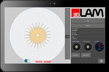 Интерфейс 3D принтера по металлу