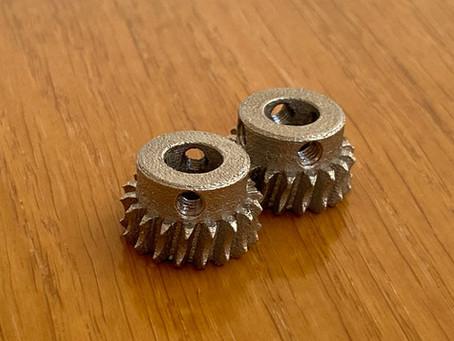 3Д печать шестерни из металла