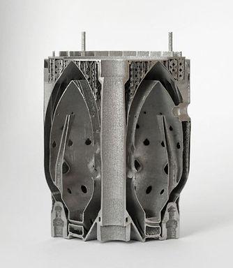 3D печать металлом турбореактивный двига