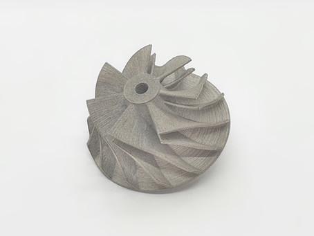 Компрессор турбореактивного двигателя 3D печать металлом
