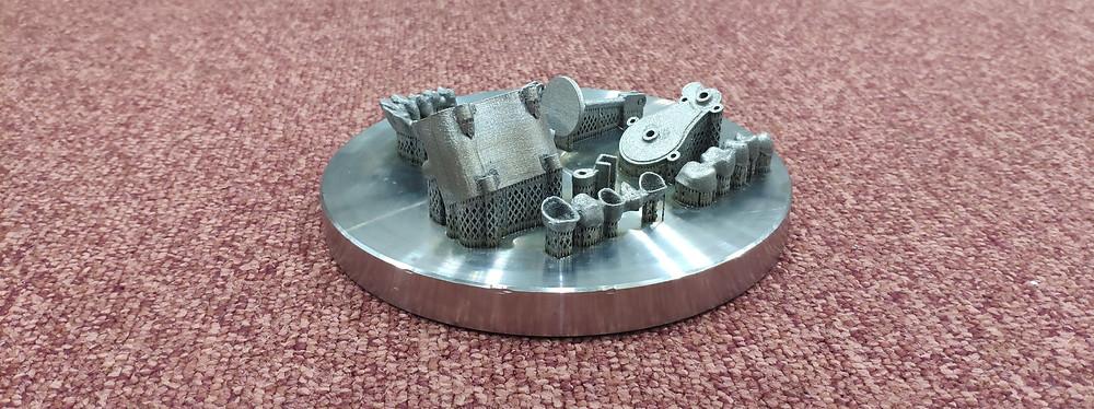 3D печать металлом в ЦАТ 3DLAM в СПб