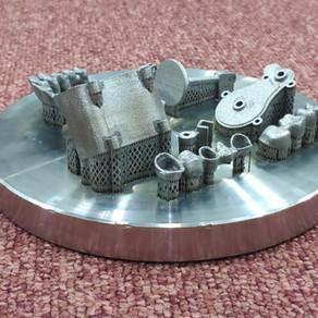 3D печать микро двигателей из металла