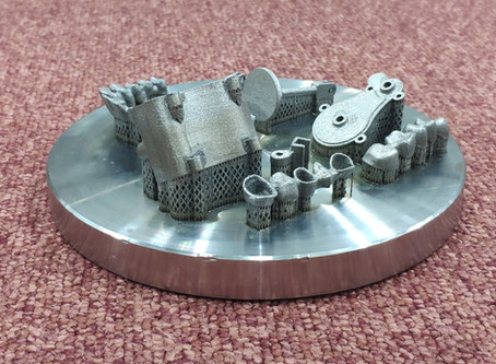 3D printing of a micro steam engine of metal
