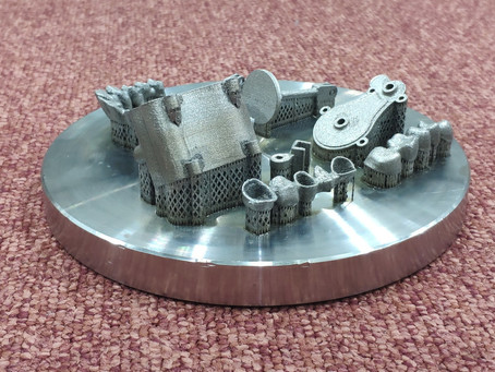 Копия 3D печать микро двигателей из металла