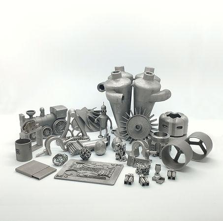 3d metal printing samples