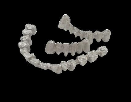 3d print dental crowns and bridges