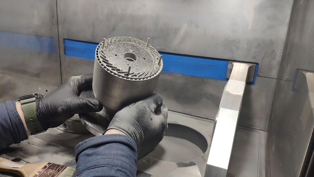 3D печать металлом жаропрочный сплав аналог inconel 718 ПР-08ХН53БМТЮ
