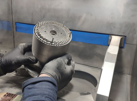 3D printed Micro Jet engine of Inconel 718