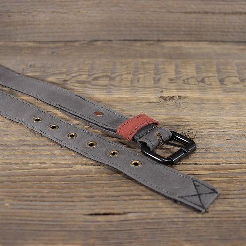 Belt - Grey Wax