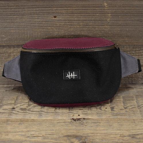 Bum Bag | Wax | purple x black x grey