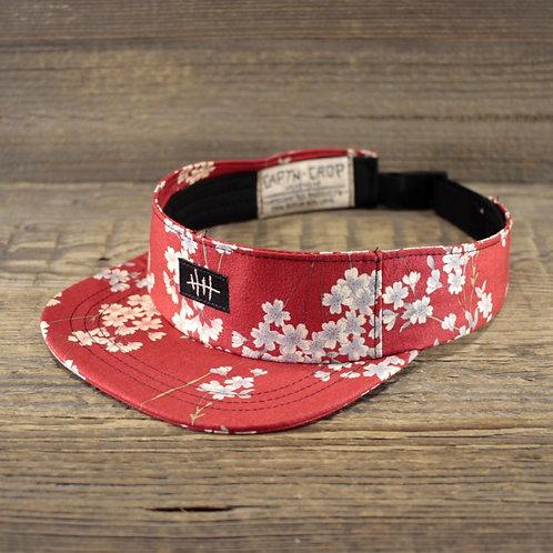 Visor - Red Sakura
