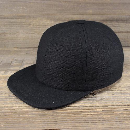 6-Panel Cap - Black Jack
