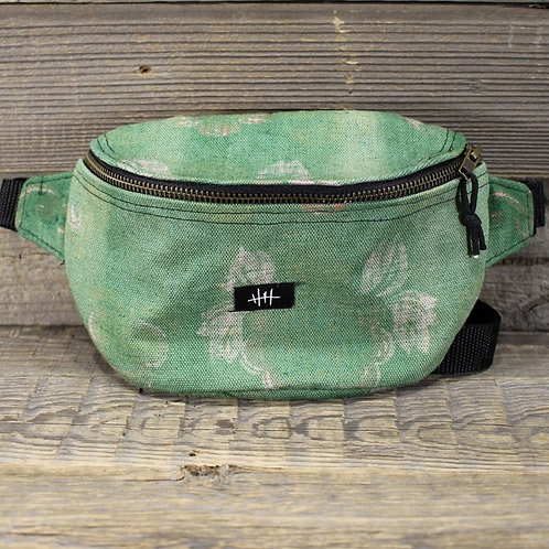 Bum Bag - Green Curtain