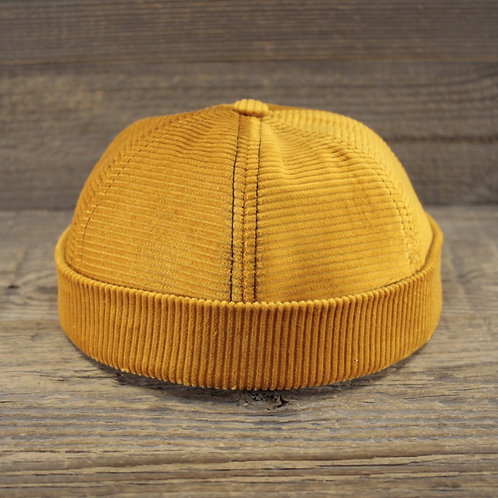Docker Cap - Honey & Mustard