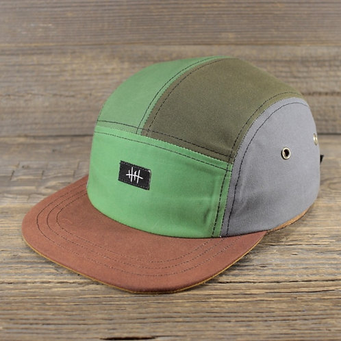5-Panel Cap - Green Wax Combination