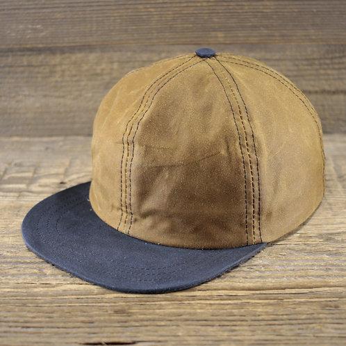 6-Panel Cap - Sand Wax & Blue