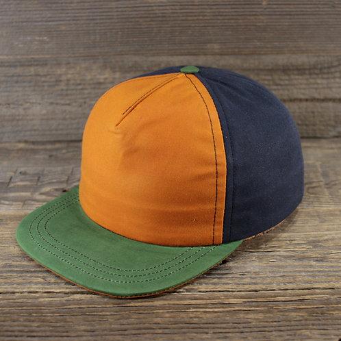 Trucker Cap - orange, black & green