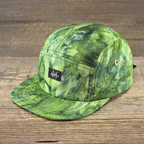 5-Panel Cap - Green Mamba