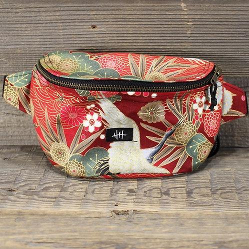 Bum Bag - Red Crane