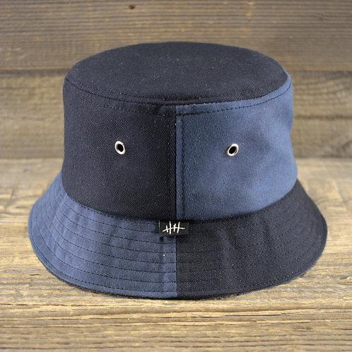 Bucket Hat - Blue Block
