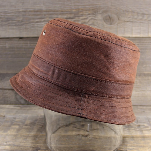 Bucket Hat - Chestnut Wax