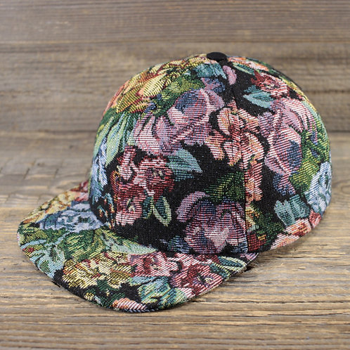 6-Panel Cap - Gobelin Flowers Sale/Size L