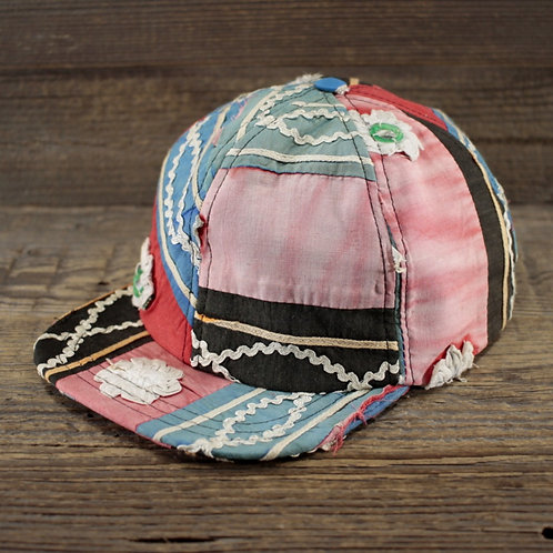 6-Panel Cap - Red Temple