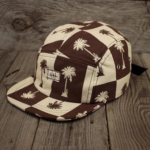5-Panel Cap - Caramel Palms