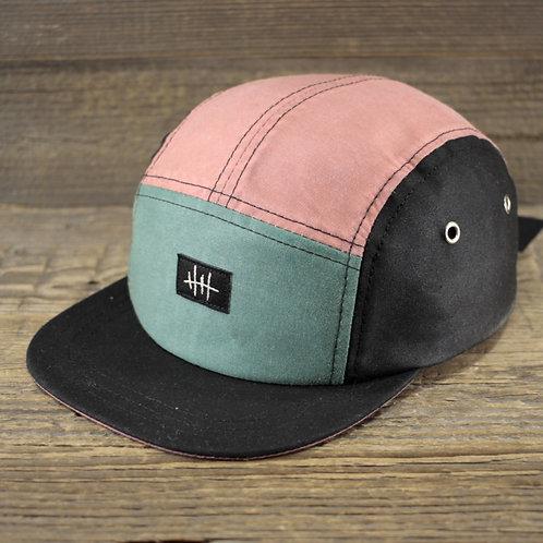 5-Panel Cap - Pink & Mint