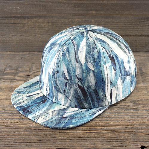 6-Panel Cap - Blue Feathers