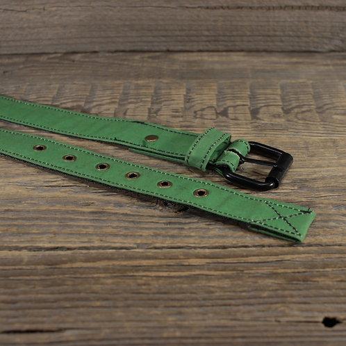 Belt - Green Wax