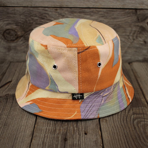 Bucket Hat - Swirls of Orango