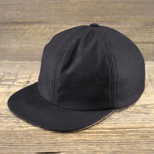 6-Panel Cap - SAND X PANAMA BLACK