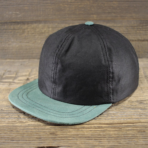 6-Panel Cap - Black Wax & Mint