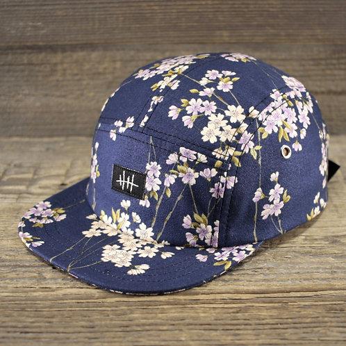 5-Panel Cap - Sakura Blue