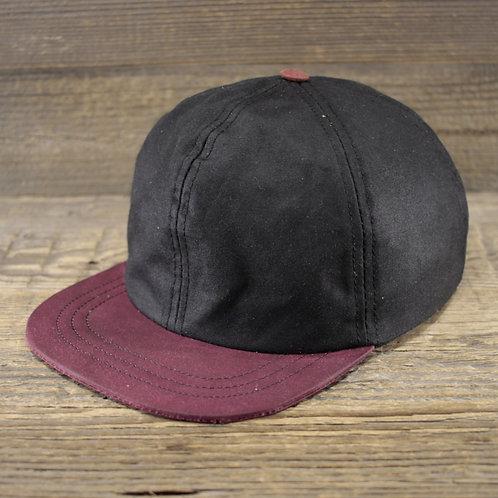 6-Panel Cap - Black Wax & Purple
