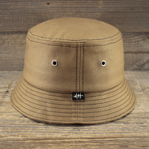 Bucket Hat - SAND COATED CANVAS