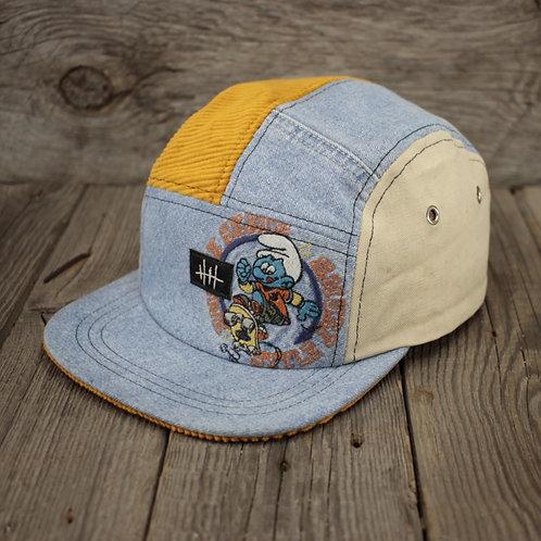 5 Panel Cap - Smurf Style