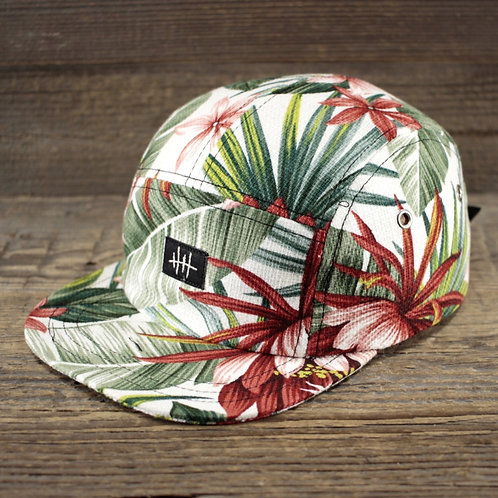 5-Panel Cap - Hawaiian Garden Sale/Size M